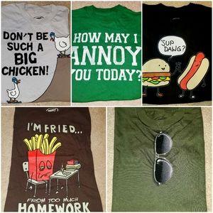Boy's XS NWT shirts size XS